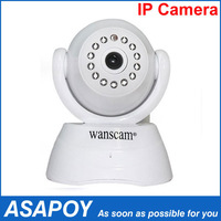 New Promotional Wireless WiFi Pan Tilt Network IR Night Vision Security Surveillance IP Camera.Free shipping