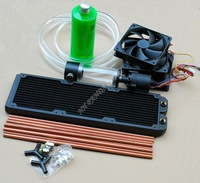 Avalon ultra-quiet strong 360 water cooled row of radiator kit