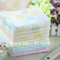 Women's Fashion Double layer 100% cotton Towels CHEAP Gauze face towel waste-absorbing size 34x72CM 3pcs/lot