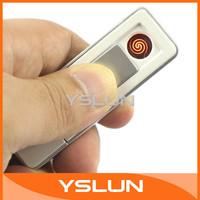 Flameless USB Car Cigarette Lighter Electronic Rechargeable Battery USB Charging Lighter Cigarette Lighter for Gift #060016