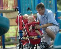 Kinderwagon twin stroller twins cart