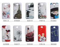 Hot New High Quality Cover Luxury Cover Plastic Hard Case For ZTE V987 Multicolor Free Shipping