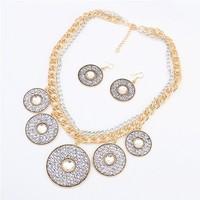 Min.order is $15(mix order) Wholesale retro/Vintage jewelry, European fashion major suit licensing roundFashion Necklace