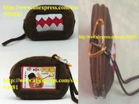 1 pcs CUTE Squre DOMO Plush Coin Purse & Wallet Pouch Bag Case; Pendant Chain Purse Bag Case Pouch BAG Wallet Handbag