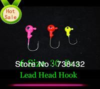 Best Price Jig Big Eye 30 Pcs 1.75G-10G (6 Sizes) Fishing Lures Lead Headed Hook Mini LEAD ROUND HEAD FISHING LURE JIGS HOOKS