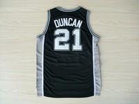 A+++ TOP new 2014 USA basketball San Antonio #21 Tim Duncan sport  jerseys baloncesto jersey men fashion embroidery 30 s-xxxl
