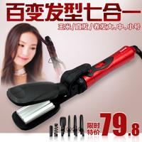 Multifunctional hair roller straightener hair straightener ceramic curling irons jumbo roll corn clip plywood