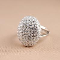 Bestselling Free Shipping 18K Gold Plated Twilight Saga Breaking Dawn Bella 925 Sterling Silver Crystal Engagement Wedding Ring