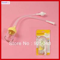 New Baby Newborns kids Nasal aspirator Vacuum Mucus Suction Nasal Aspirator Soft Tip anti-reflux Nose Cleaner