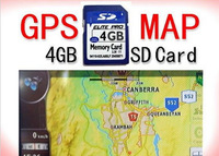 Free shipping!!!4GB/2GB memory card micro sd with 3D gps map card