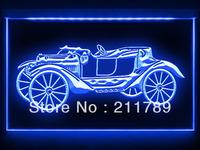 AC051 B Vintage Car Old Collection Bar LED Light Sign