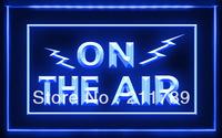 OA001 B ON THE AIR Radio Recording Studio LED Light Sign