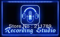 OA002 B Recording Studio Microphone Bar LED Light Sign