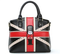 British Style The Prince UK Flag Lady's Handbag Party Bag for Woman