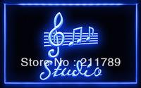 OA005 B Studio On Air Music Bar Pub LED Light Sign