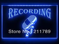 OA012 B Recording On The Air Radio Studio LED Light Sign