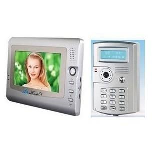 Wired video intercom doorbell home doorbell belt telephone id card open the door(China (Mainland))