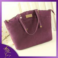 Brand New Retro Women Handbag High Quality Dull Polish Messenger Bag, Hot Sale Fashion Nubuck Leather Shoulder Bag Free Shipping