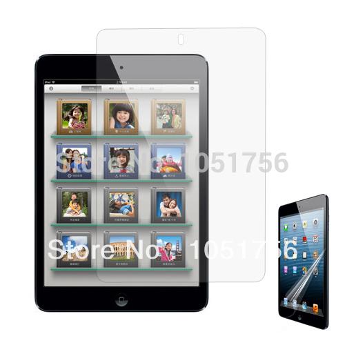 5 x Clear Screen Protector Guard Cover for Apple iPad Mini 16GB 32GB 64GB Free Shipping(China (Mainland))