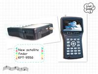 2013 New 4.3 inch handheld build-in satellite finder meter