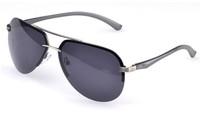 free shipping brand new Men's fashion good quality polarized sunglasses new magnesium alloy classic eyewear
