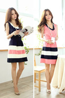 Women cute dress elegant chiffon dress W3333