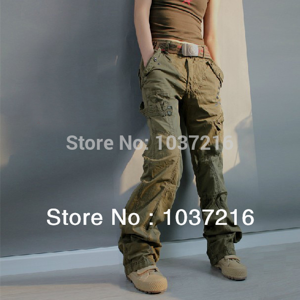 Pants With Lots of Pockets Multi Pocket Cargo Pants