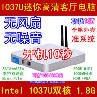 Barebond New Thin Client Mini PC, Intel Celeron Dual Core, No RAM, No HD, WiFi, 1080P HDMI, Metal Case, Fanless