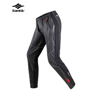 SDK-C04007/Santic Men's Windproof Cycling Trousers Fleece Thermal Winter Pants Windproof Cycling Pants