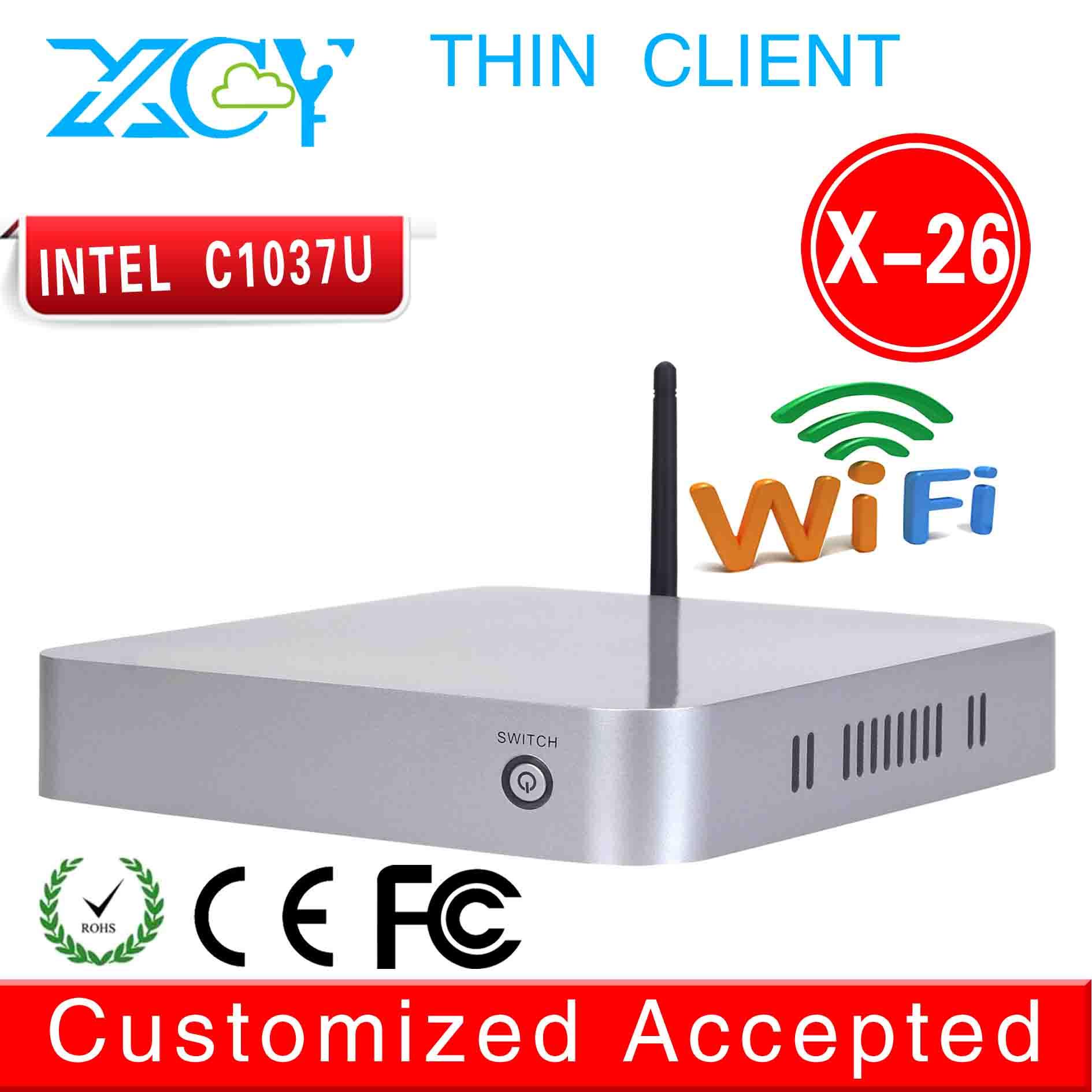 INTEL C1037U Celeron mini pc computer networking industrial pcs support youtube, mesenger, skyp, video call(China (Mainland))