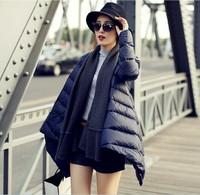 Free shipping new brand women coats winter fashion 2013 long winter dress coat manteau women fur down jacket down & parkas