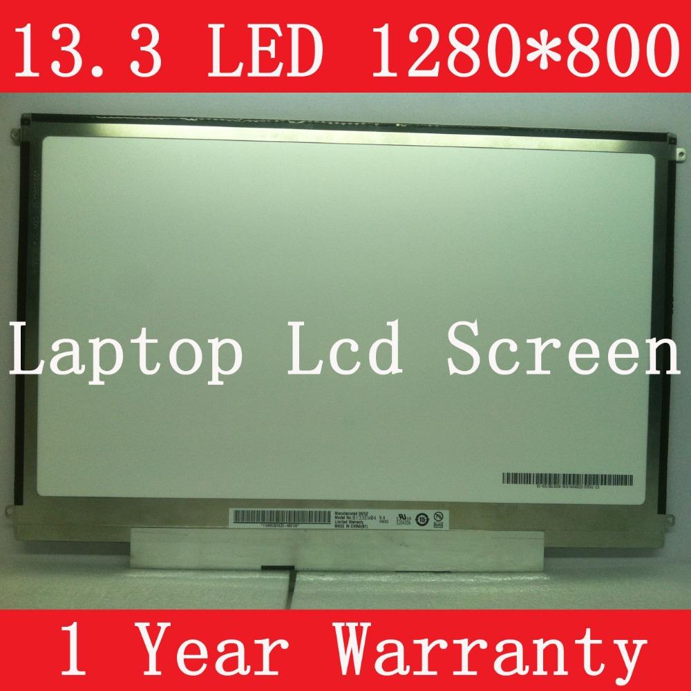 "B133EW04 V.4 B133EW07 V.2, 13.3"" LAPTOP LCD SCREEN, slim LED backlight, WXGA resolution (1280*800 P), 1 year warranty(China (Mainland))"