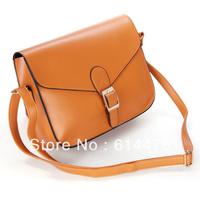Free shipping 100PCS/LOT Designer Handbag Satchel Purse pu leather Tote shoulder Messenger Bag candy color