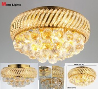 "55CM (21.6"")  Diameter luxury crystal Ceiling lamp Bed room Ceiling Lights aisle lights crystal Modern Ceiling lights"