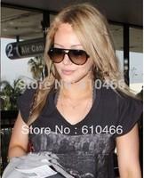 Gradually sunglasses circle sunglasses women brand designer   sunglasses 4125 acetate sunglasses wholesale freeshipping
