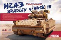 Meng model SS-004 1/35 U.S. Infantry Fighting Vehicle M2A3 Bradley w/BUSK III plastic model kit