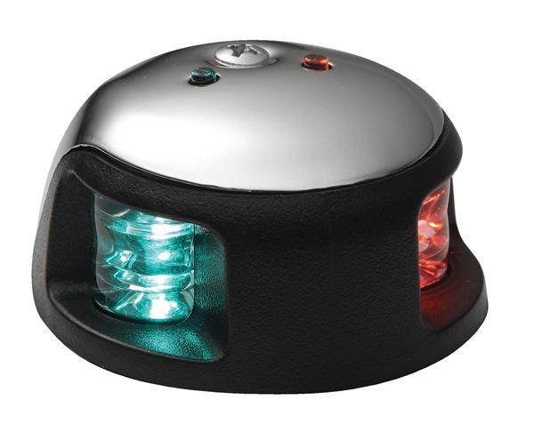 FREE SHIPPING - 39.4ft (12m) Vessle / Boat / Yacht 1- NM Nautical Mile LED Bi-color Navigation Lights / Red&Green LED Sidelights(China (Mainland))