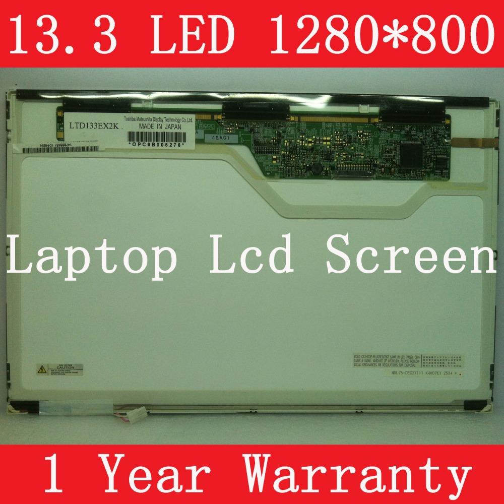 "LTD133EX2X LTD133EX2Y LTD133EX3Y LTD133EX2K LQ133K1LA4A, 13.3"" LAPTOP LCD SCREEN, CCFL backlight, WXGA resolution (1280*800P)(China (Mainland))"