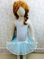 Retail New arrival Fashion Baby Girls dress Sleeveless Leotard Ballet TUTU Dress Dot Lace Tutu Dance Costume Dress HY-002