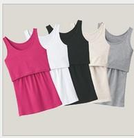 Retail New Maternity clothes Nursing Tops Breastfeeding Top Nursing Shirt Drop shipping