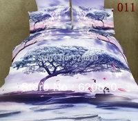 Wholesale Bedsheet set 100% Cotton Bedding Sets Queen Size Bedcover Bed sheets Bedclothes Duvet Quilt Cover Pillow Case Bedsheet