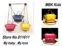 2014 New Brand Rivet Fashion Designers Kids Bag Children's Shoulder Bag Lady's Mini Bags Womens Bag Girl's Handbags Baby's Totes