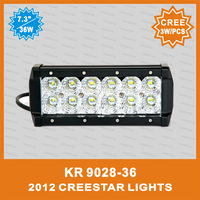 LED SPOT LIGHT BAR 36W  KR9028-36 led flood beam light bar in the same price IP67 Waterproof Suit for ATV SUV TRACTOR TRUCK