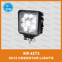 IP67 Waterproof 27W led yacht work lights for yacht KR4273