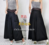 10% OFF,Free Shipping!New Fashion Women's Wide Leg Carual Pants,Wholesale/Retail