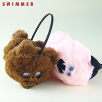 Swimmer plush animal earmuffs girls thermal winter earmuffs ear