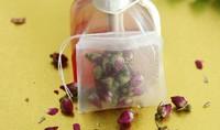 Empty Nylon teabag.6*7cm with thread