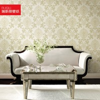 Tv background wall wallpaper fashion non-woven wallpaper high quality ra458