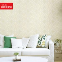 Modern brief stereo non-woven wallpaper tv background wallpaper ra471