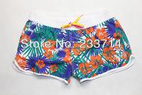 Free shipping 2014 surf shorts women bermuda aussie swimwear boardshorts quiksliver billabong shorts beach surfing swimming men